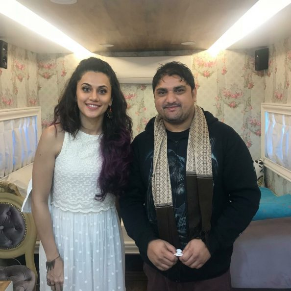 Taapsee Pannu (Indian actress) Inked By Mukesh Waghela