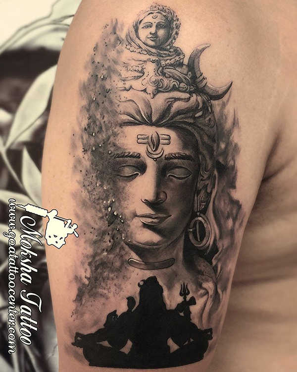 Tattoo Designs God Shiva: Shiva Tattoo Done By Mukesh Waghela At Moksha Tattoo
