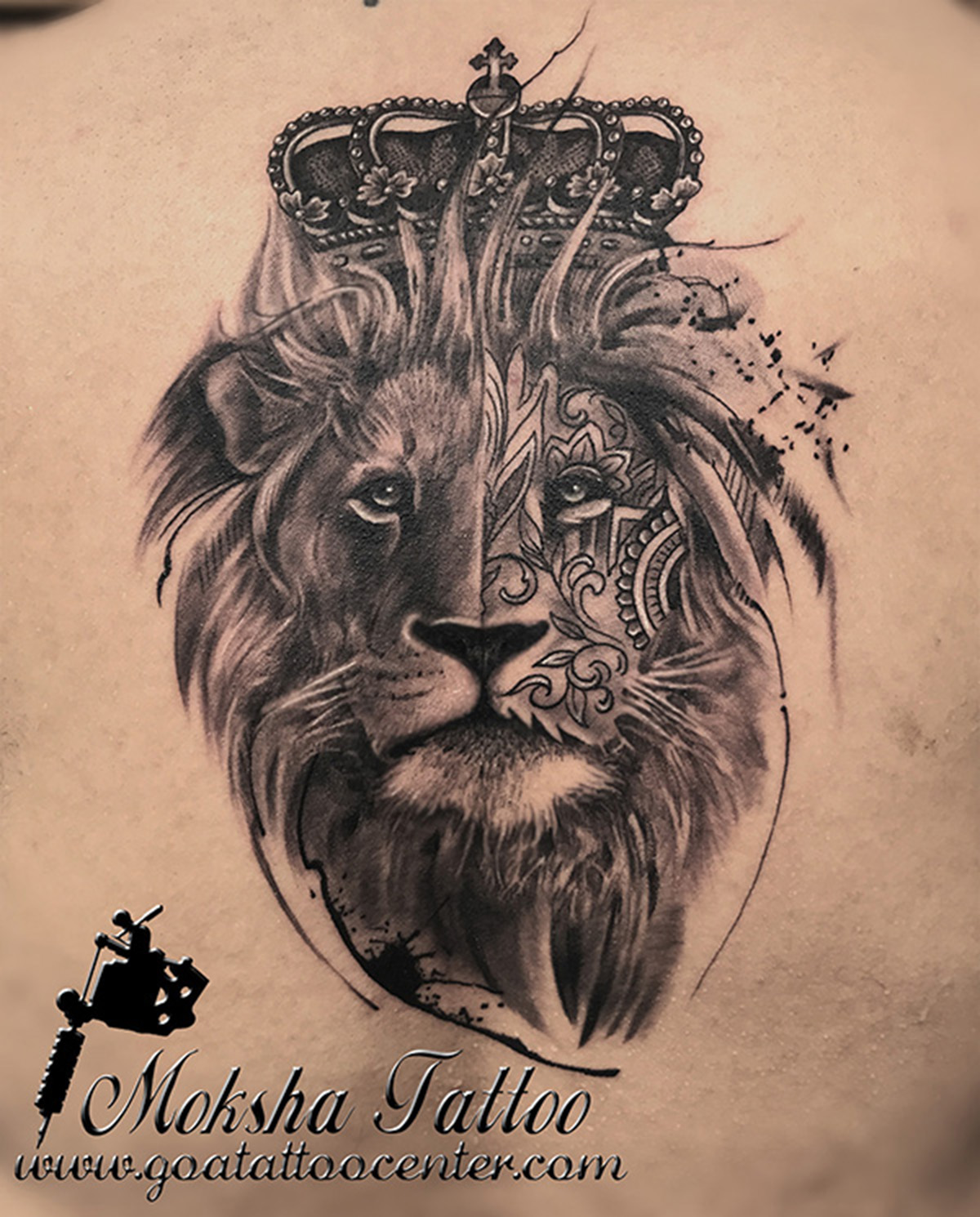 Lion pack tattoo